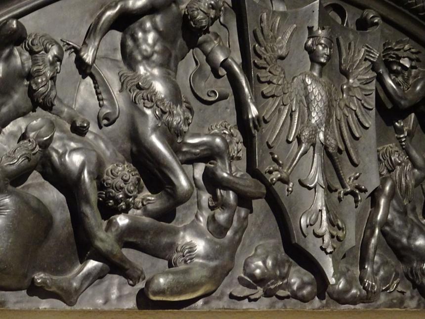 Détail d'un bronze