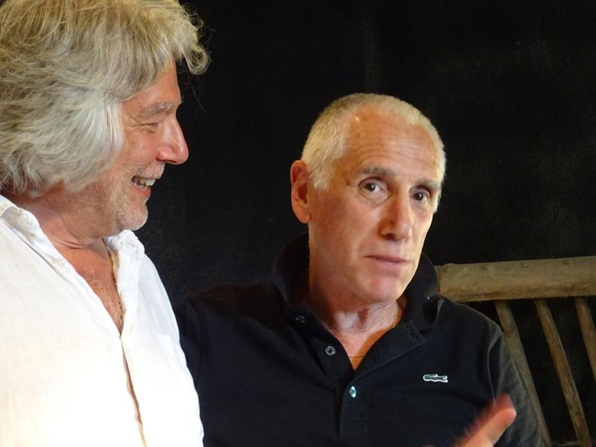 Alain Carré et René Frégni