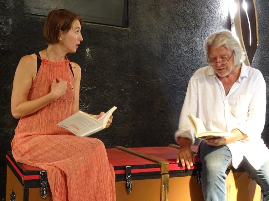Stéphanie Leclef et Alain Carré
