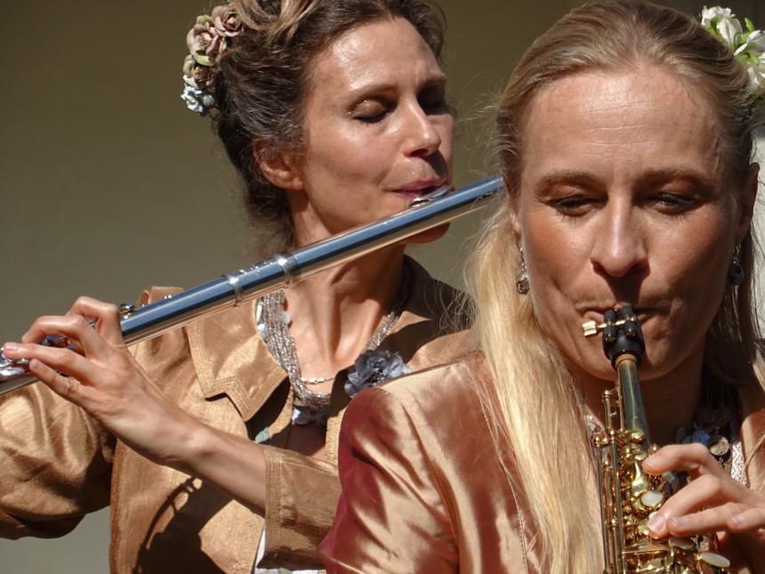 Julie Garnier et Marie Braun ©Paul Rassat