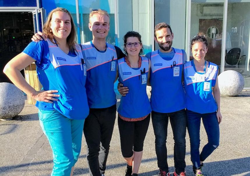 L'équipe d'organisation du VitalSport 2019