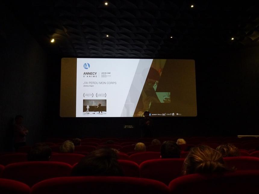 Projection du film « J'ai perdu mon corps » / Avec CITIA