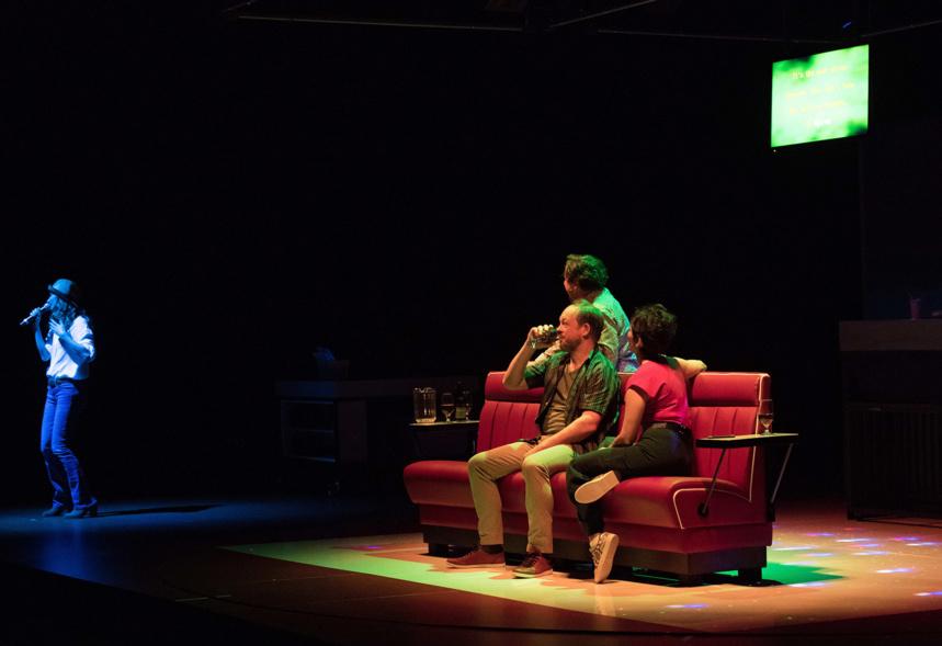 Linda Vista. Création. Actuellement au Théâtre Bonlieu Annecy