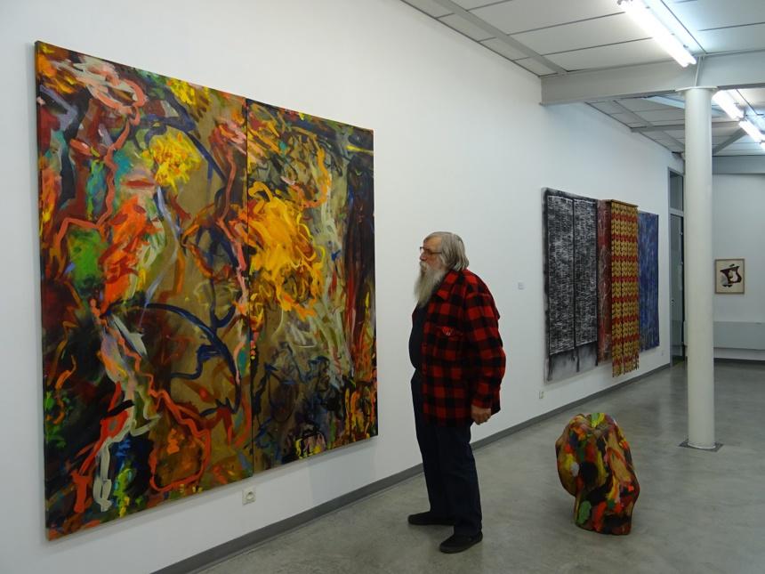 """Exposition """"Dédoublement"""" Jean-François Chevalier. Espace La Brava. Thônes"""