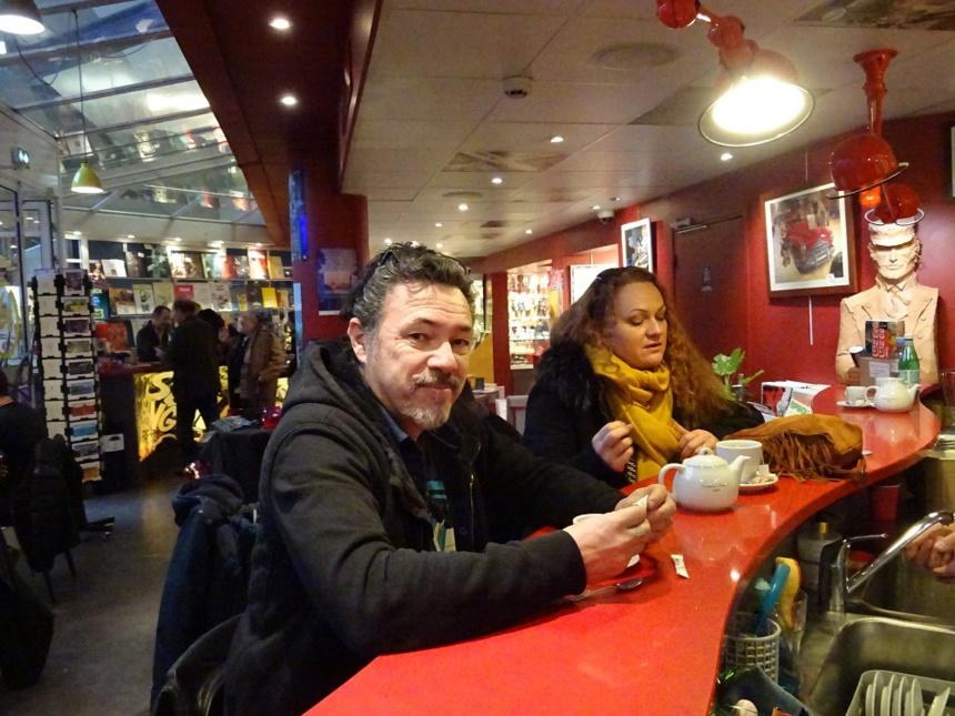 Didier et Lyse Tarquin chez BD Fugue / Annecy ©DR