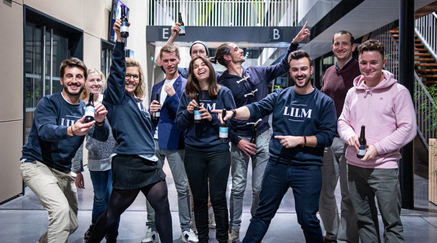 L'équipe LILM au complet ©LILM - Alexandra Fraresse
