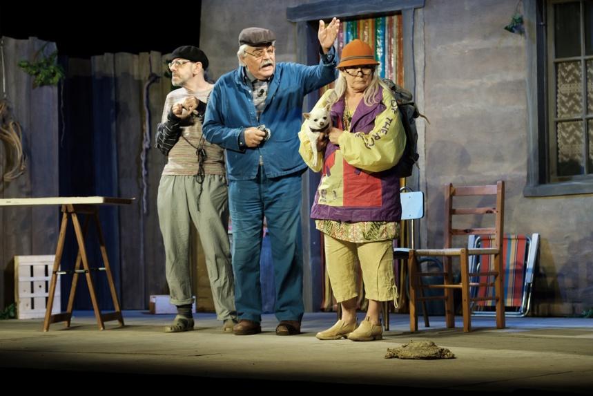 Théâtre Serge Papagalli Photo © Marc Dufournet