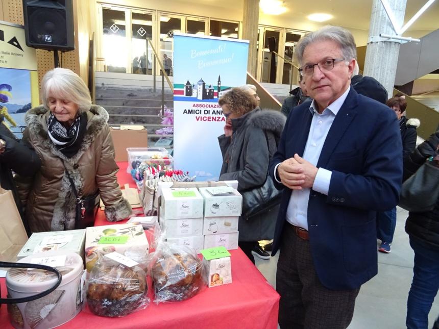 Les liens d'amitié entre Vicenza et Annecy continuent de se tisser