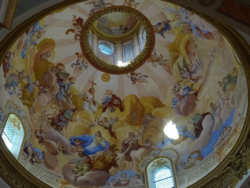 Coupole de Notre Dame de la Vie Saint-Martin de Belleville @dr