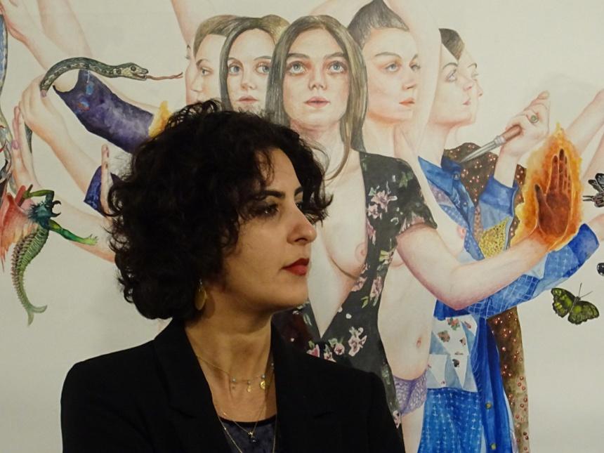 Nazanin Pouyandeh ©Paul Rassat