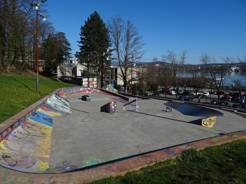 Skate parc, Brise Glace