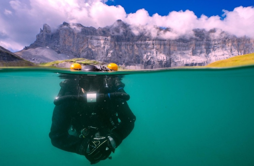 AQUALTI, les lacs alpins d'altitude et le microplastique © Florian Moreau