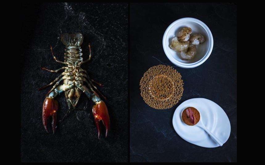 Thé d'écrevisses Restaurant Laurent Petit - Le Clos des Sens à Annecy-le-Vieux © M. Cellard © M. Cellard