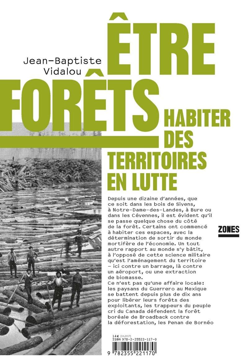 Être forêt (éditions La Découverte) de Jean Baptiste Vidalou