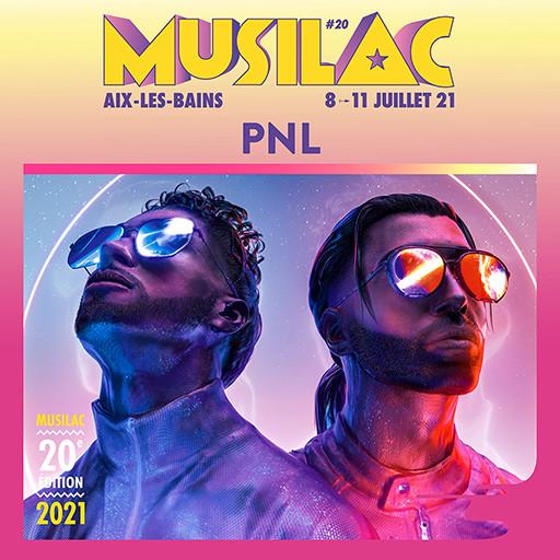 PNL sera présent en 2021 à Musilac ©DR