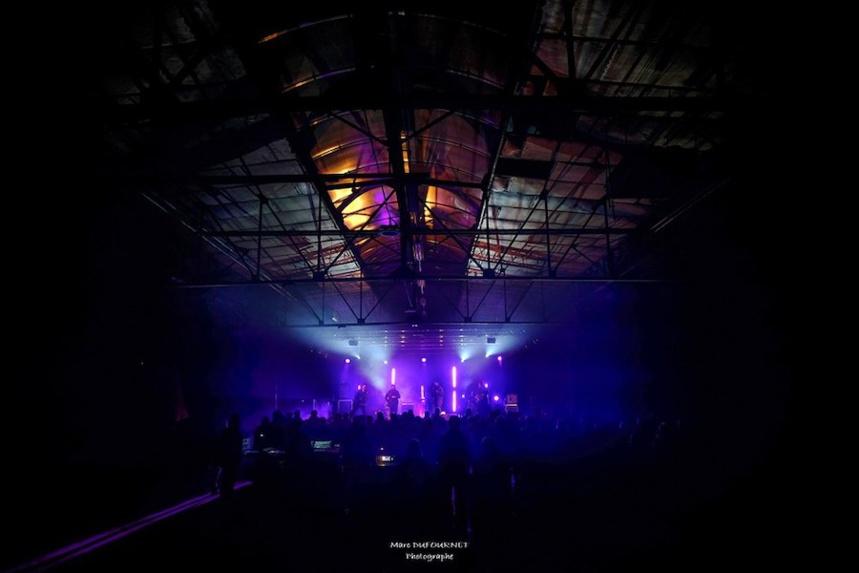 La Cafetera Roja en concert à La Forge à à Faverges-Seythenex ©Marc Dufournet Photographie