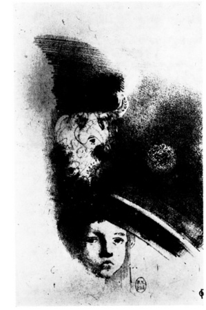 Mallarmé mis en illustration par Odilon Redon