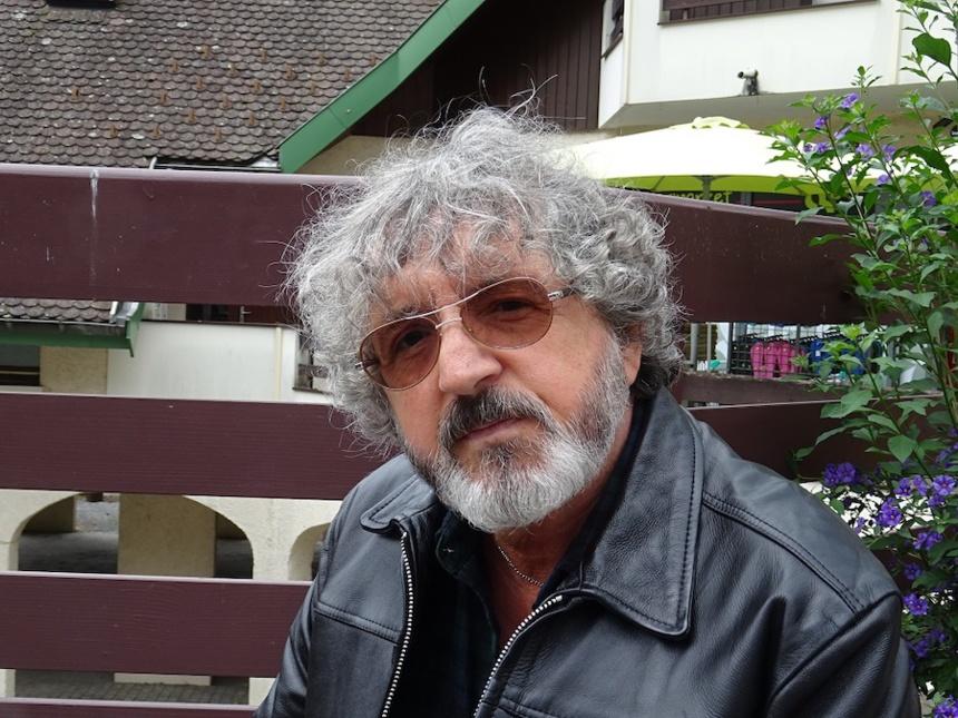 Jean-Marie Gourio, le 29/6/2020 à Talloires, nous parle de Talloires et de Fête ©DR