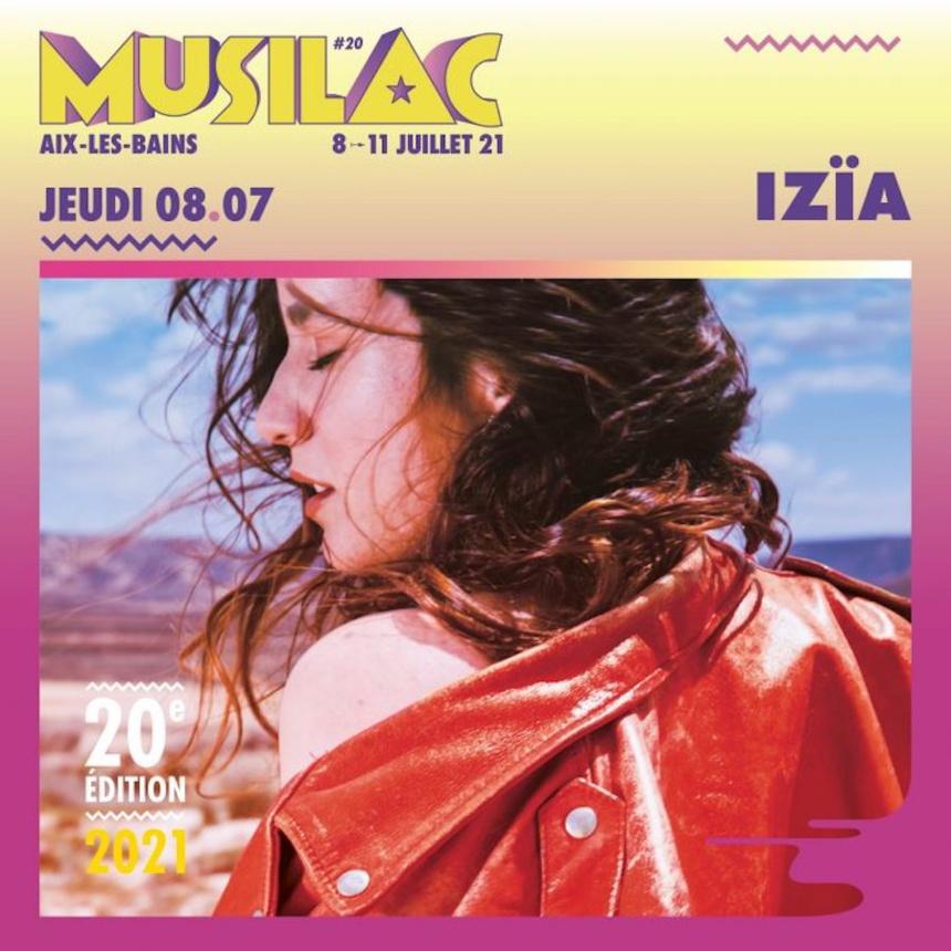 Izia sera présente pour la 20° édition du festival Musilac ©DR