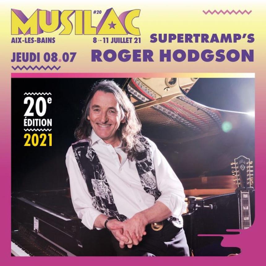 Roger Hodgson sera présent pour le festival Musilac 2021 ©DR