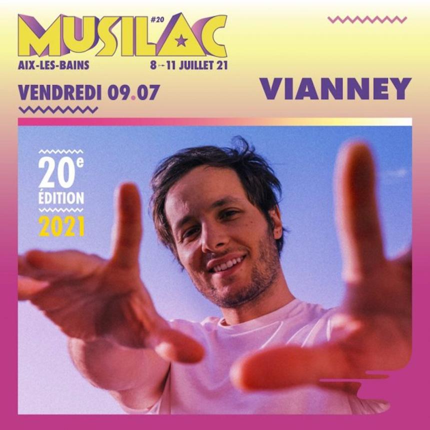 Vianney sera au pour le festival Musilac 2021 ©DR
