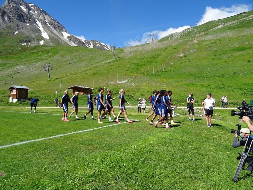 Un cadre motivant pour les joueuses de l'Olympique Lyonnais ! ©DR