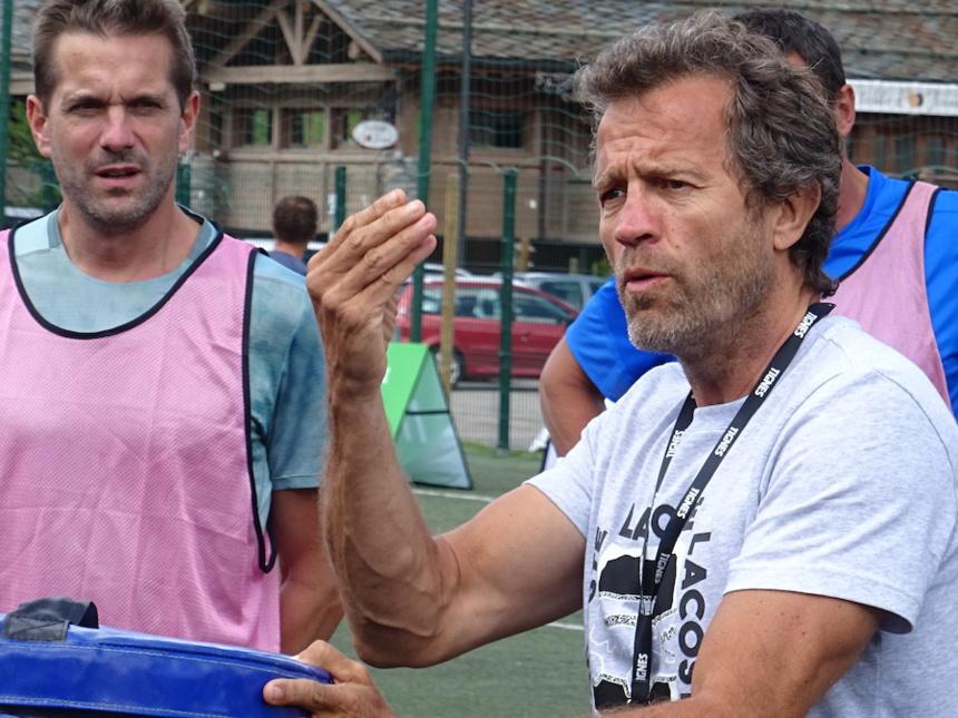 Les Étoiles du Sport au Stade Fabien Galthier avec Fabien Galthier à Tignes ©Paul Rassat