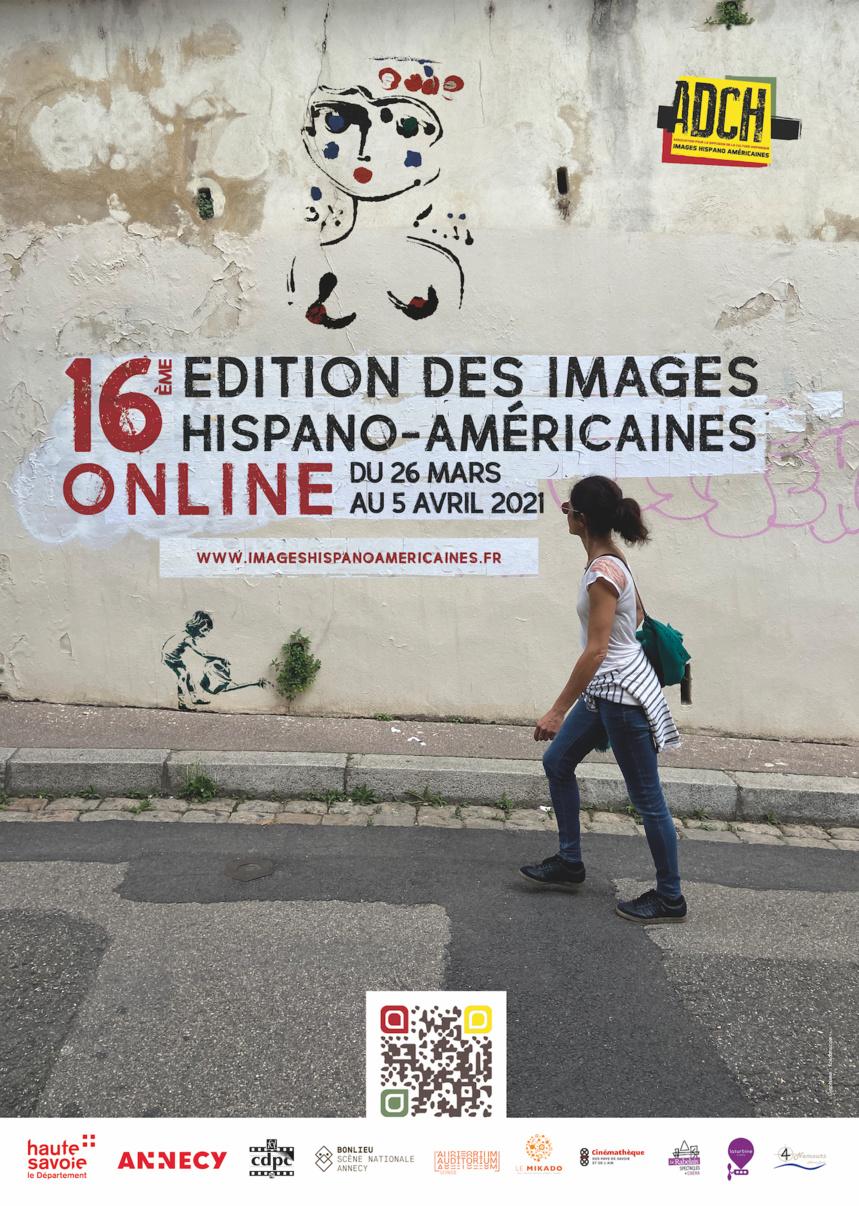 Affiche de la 16e édition des Images hispano-américaines Online