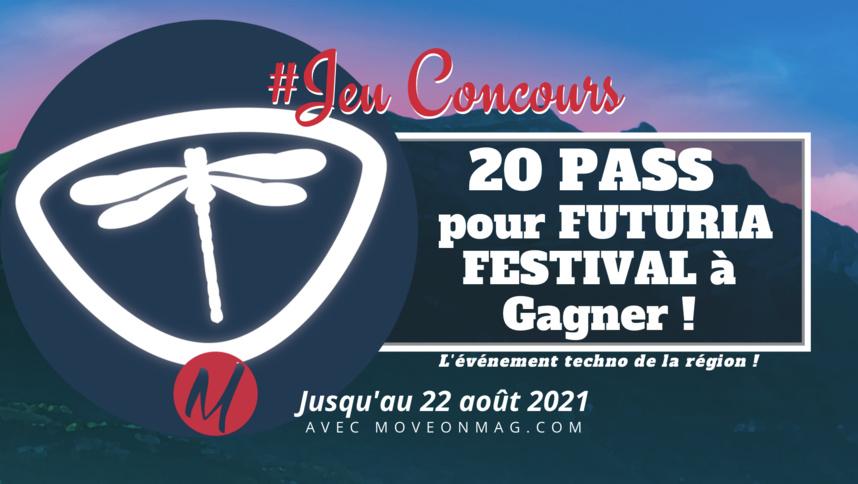 #JEUCONCOURS : 20 PASS À GAGNER pour le FUTURIA FESTIVAL !