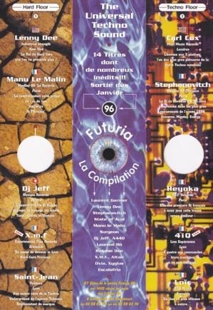 Futuria, La Compilation 1996
