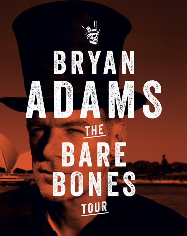 Bryan Adams à l'Arcadium d'Annecy le 4 août 2014