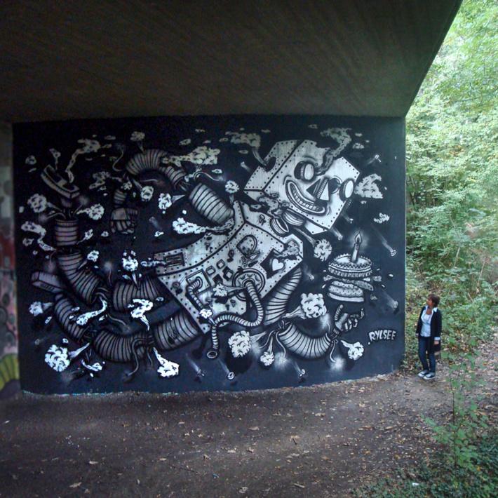 Rylsee, L'artiste au pied du mur