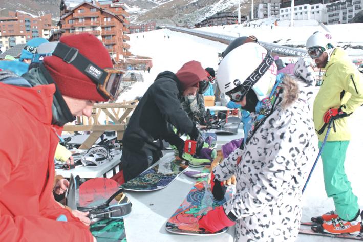 Le Rock On Snowboard Tour, première étape à Val Thorens, on y était !