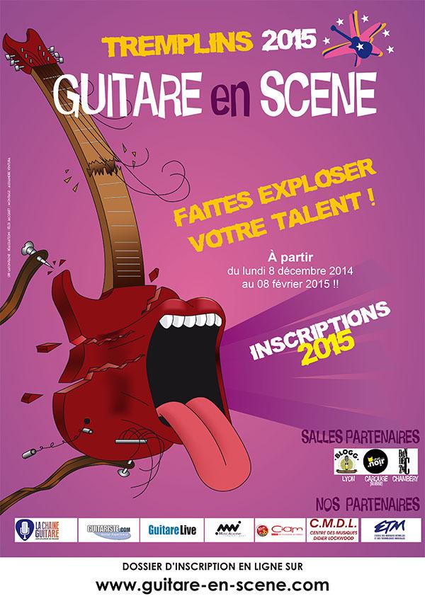 Guitare en Scène - Tremplin GES