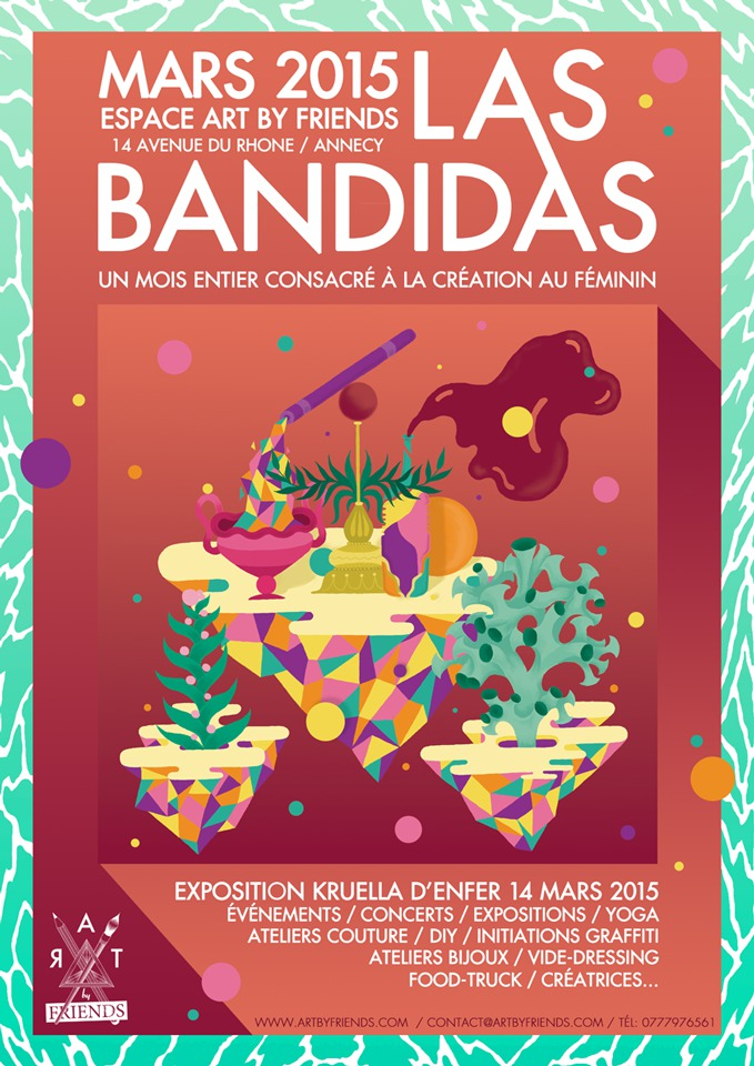 "Art by Friend ""Las Bandidas"""