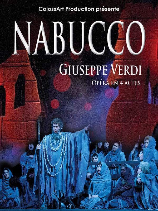 """A GAGNER, 4 Places de Spectacle pour """"NABUCCO"""" à l'Arcadium / Dim 22 Mars 2015"""