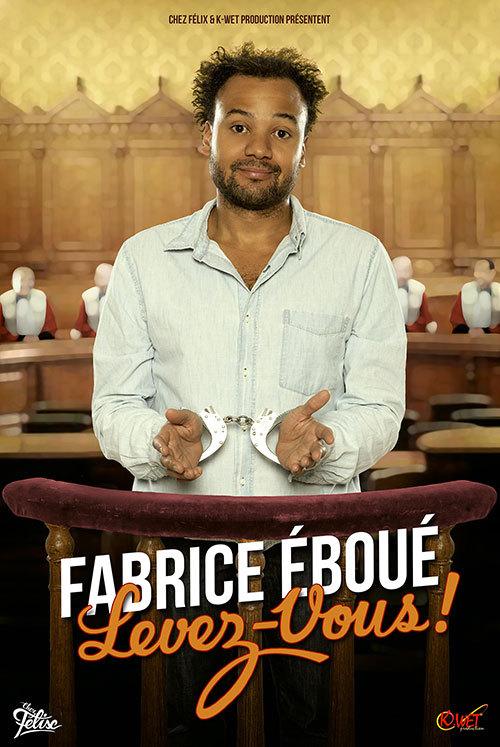 """A GAGNER, 2 Places pour """"FABRICE EBOUE"""" au Théatre de Bonlieu / Mardi 31 Mars 2015"""