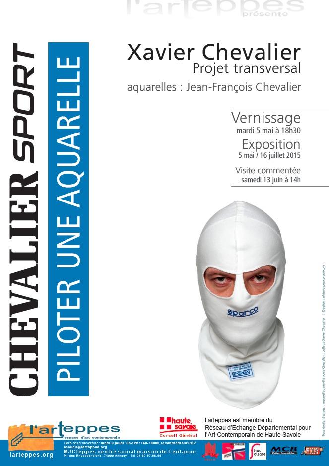 "Exposition ""Piloter une aquarelle"" de Xavier Chevalier"