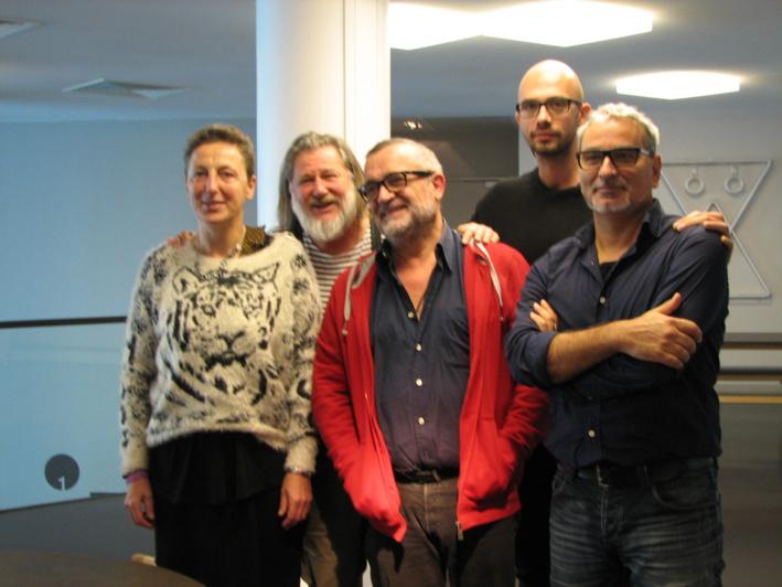 Dominique Vallon, Claude Brozzoni,Grégory Dargent, Claude Gomez