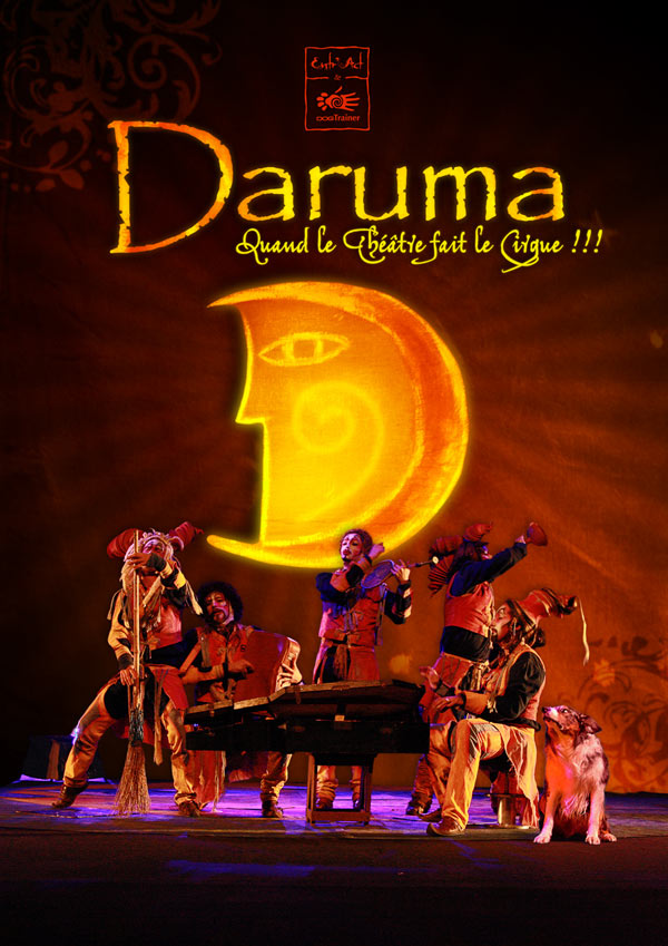 """A GAGNER, 10 Places pour """"DARUMA"""" - Dimanche 6 décembre à L'arcadium Annecy"""