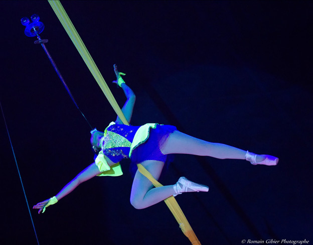 La princesse Mékong du cirque Impérial du Vietnâm Trinh Trà My / Copyright Cirque Medrano