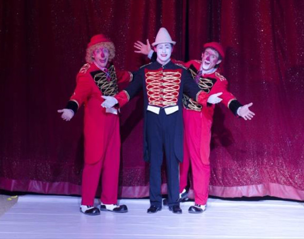 Les plus grands clowns du moment les Tony Tonitos / Copyright Cirque Medrano