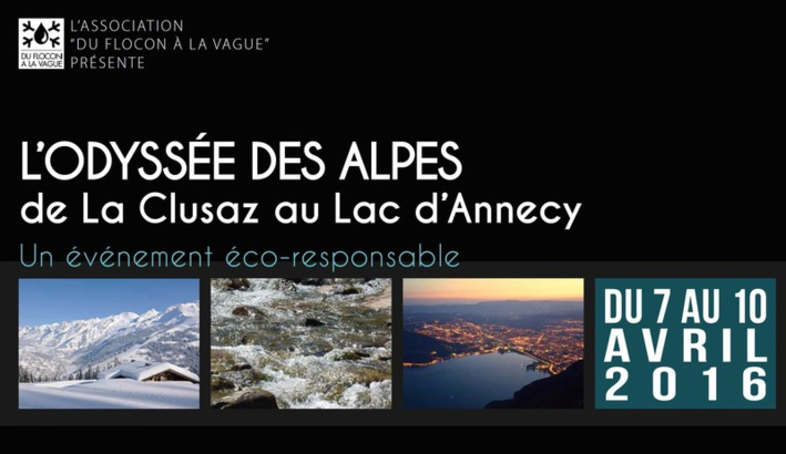 L'Odyssée Alpes du Flocon à la Vague
