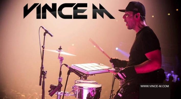"""VINCE M, le """"prince"""" de la percussion"""