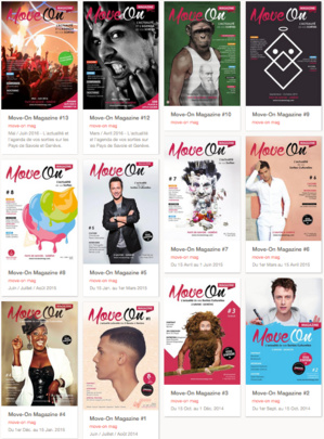 Move-On Magazine en version Papier