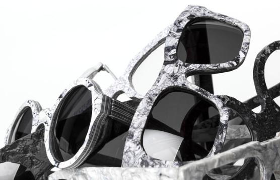 Un projet de montures de lunettes en papier recyclé présenté par une jeune designer Suisse !
