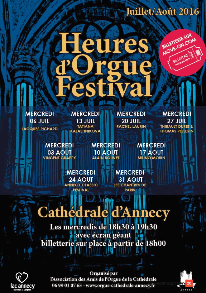 Festival des Heures d'Orgue de la Cathédrale avec Johann Vexo