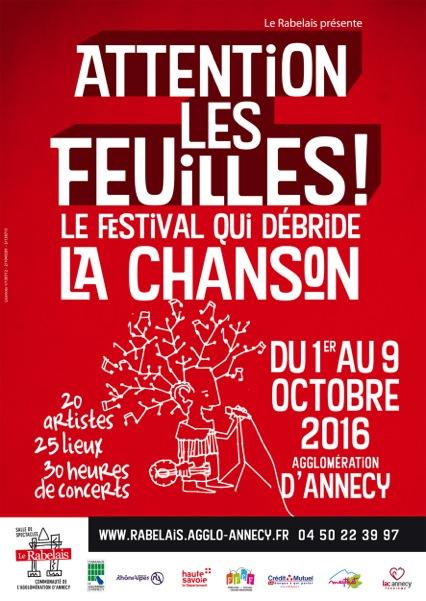 Attention les feuilles ! Le Festival qui débride la Chanson