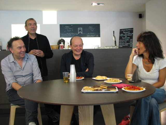 Pierre Pradinas, Salvador Garcia, Stéphan Wojtowicz et Romane Borhinger