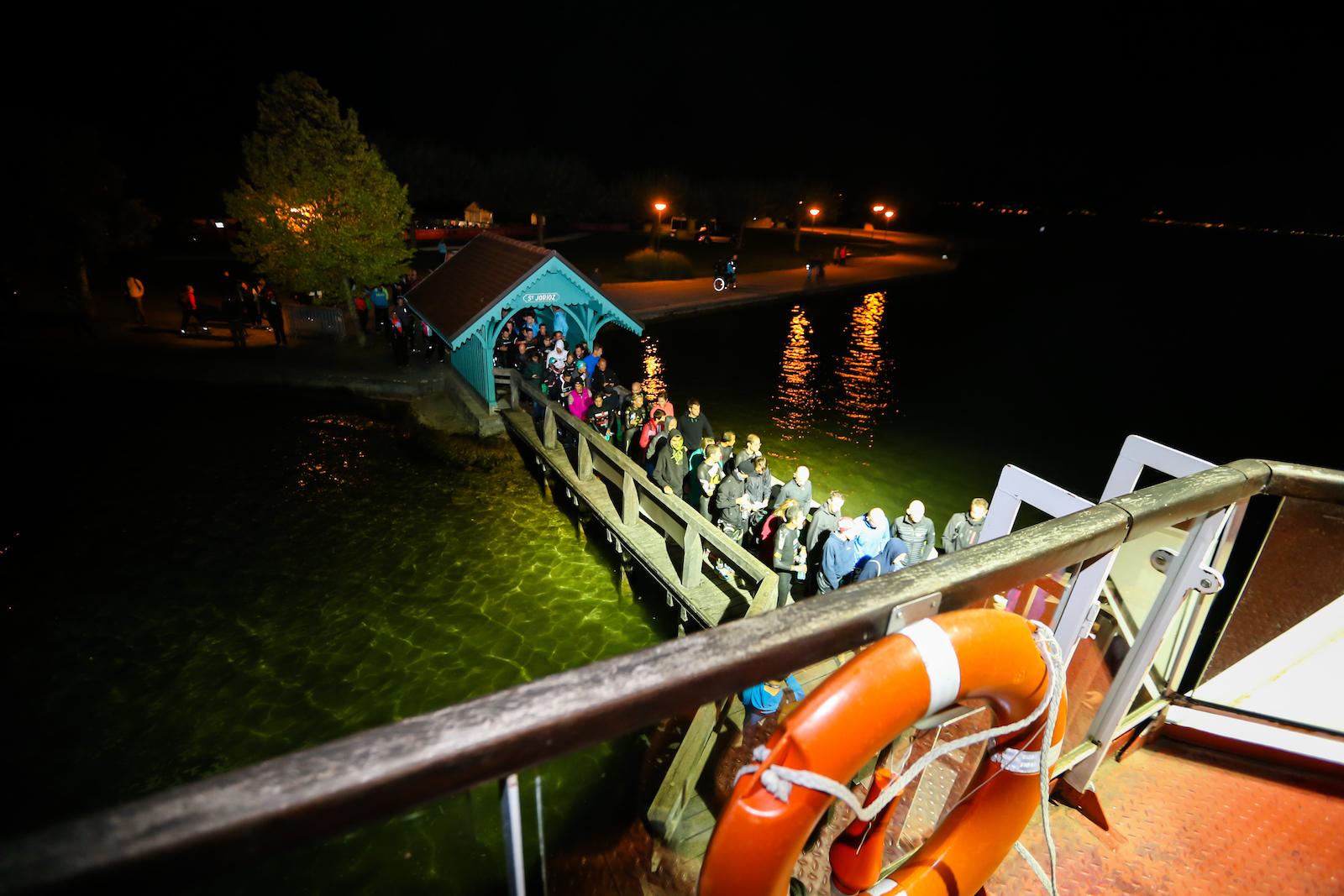 Embarquement sur le bateau @TRIMAX